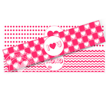 Valentine Water Bottle Labels - Classroom Decoration, Party Printable