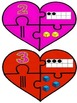 Valentine Ways to Show Numbers Puzzles