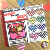 Valentine What Do You See? {interactive book of colors}