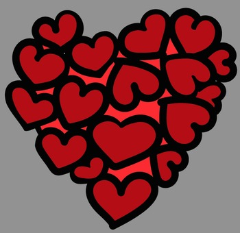 Valentine Whimsical Hearts Clip Art - Whimsy Workshop Teaching