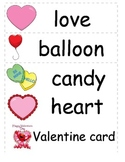 Valentine Word Cards