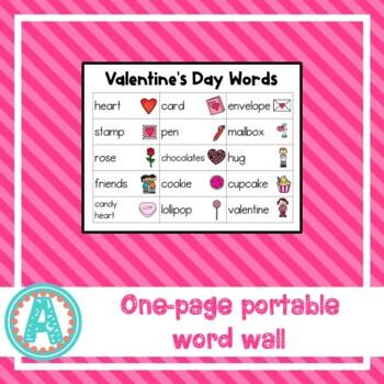 Valentine Word Cards