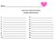 Valentine: Word Families