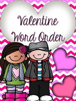 Valentine Word Order