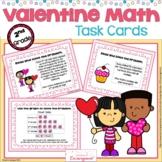 Valentine Word Problem Task Cards