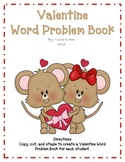 Valentine Word Problems Book