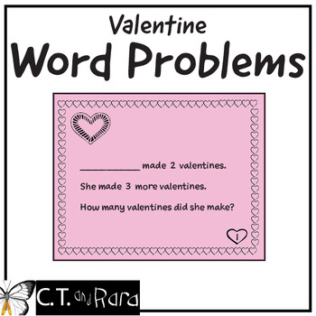 Valentine Word Problems | Story Problems