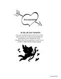 Valentine Word Search-Spanish-No Prep-Printable