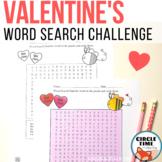 Valentine Word Search