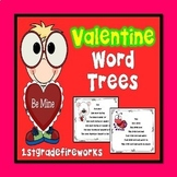 Valentine Word Trees for Reading Fluency