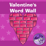 Valentine Word Wall