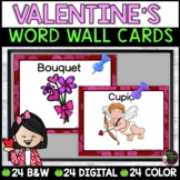Valentine Word Wall Cards
