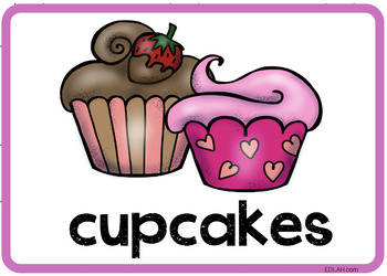 Valentine Vocabulary Word Wall Cards (set of 17) - Full Color -Version#1