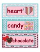 Valentine Word Wall Words