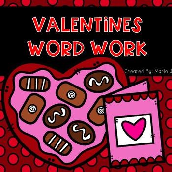 Valentine Word Work