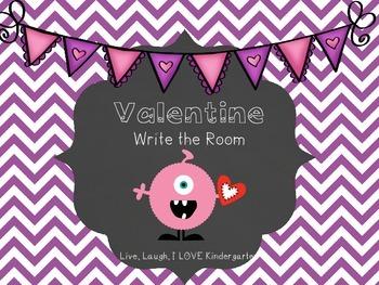 Valentine Write the Room-FREEBIE