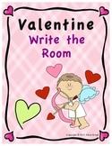 Valentine Write the Room - FREE