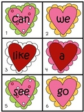 Valentine Write the Room Sight Word Cards