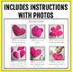 Valentine Writing 3-D Heart Craftivity