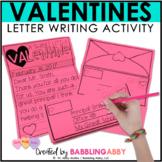 Valentine Writing Activity