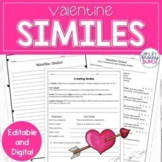 Valentine's Day Writing Activity for Middle School