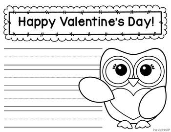 Valentine Writing Center {You've Got Mail!}
