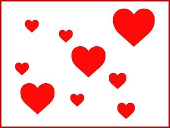 Valentine Writing Control Practice