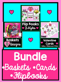 Valentine Writing, Craft and Card Bundle