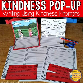 Valentine Writing Kindness Pop-Up Book