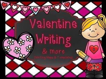 Valentine Writing Maps