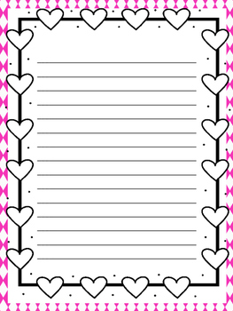 Valentine Writing Paper (1)
