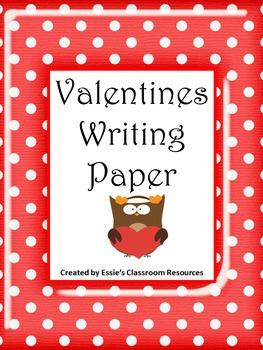 Valentine Writing Paper (2)
