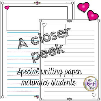 Valentine Writing Paper