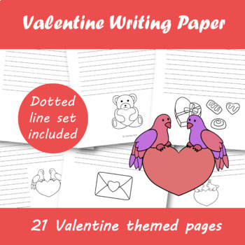 Valentine Writing Paper