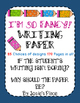 Valentine Writing Paper FREEBIE