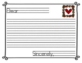 Free Valentine Writing/Reading Skills Review