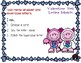 Valentine Yeti Alphabet Match File Folder Game Literacy Center