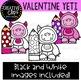 Valentine Yeti: Valentine Clipart {Creative Clips Clipart}