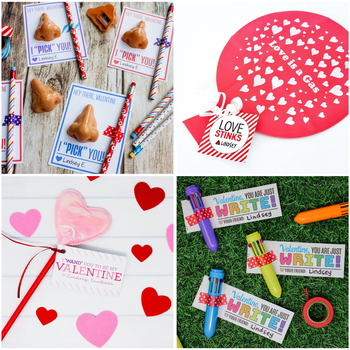Non-Candy Valentine Ideas & Tags
