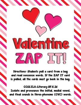 Valentine ZAP IT!