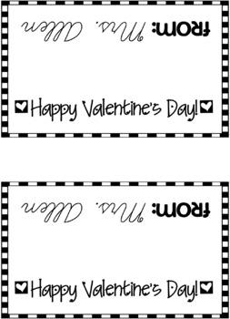 Valentine Ziploc Bag Cover