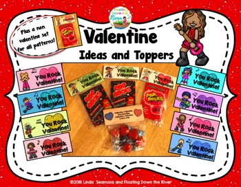 Valentine and All Year Treat Topper