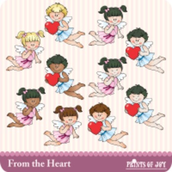 Valentine and Cupid Clipart Graphics