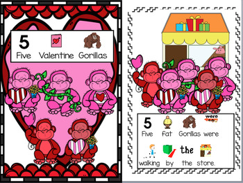 Valentines Day Poem, Interactive Story, Rebus Read, Circle Time, Reading Center