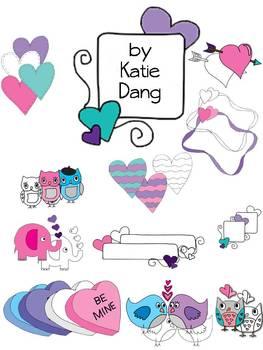 Valentine clip art and graphics