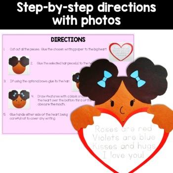 Valentines Day craft activity
