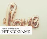 Valentine day - Pet Nickname