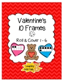 Valentine's 10 Frames Roll and Cover