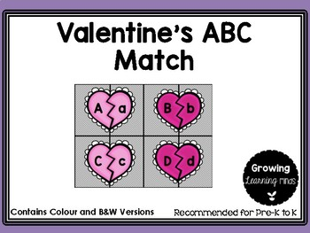 Valentine's ABC Match