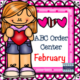 Valentine's ABC Order Center